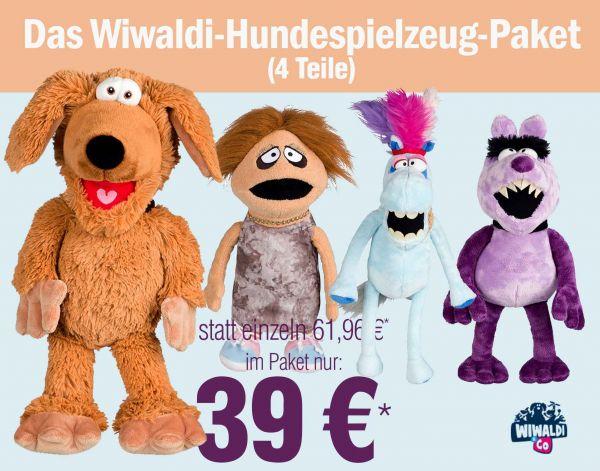 Das Wiwaldi-Hundespielzeug-Paket zum Vorteilspreis