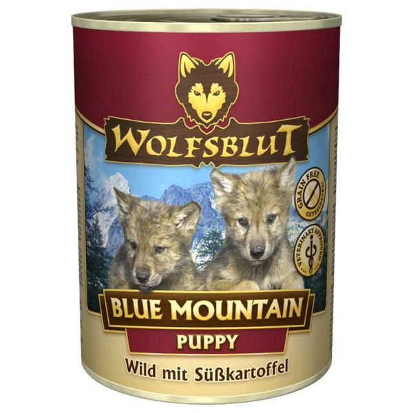 Blue Mountain Puppy Nassfutter