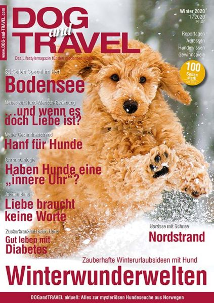 DOGandTRAVEL Winter 2020 (Einzelheft)
