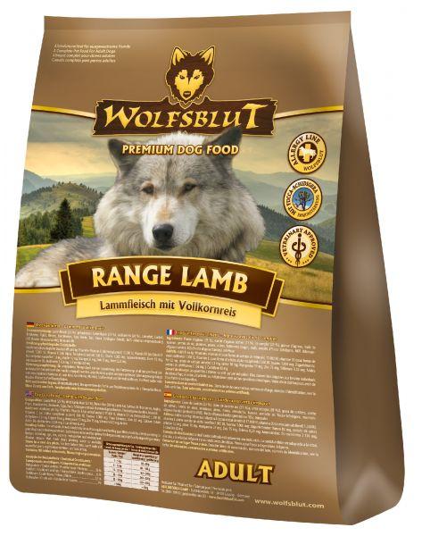 wolfsblut range lamb trockenfutter mit lamm und reis 2kg dogandshop gutes f r hunde und ihre. Black Bedroom Furniture Sets. Home Design Ideas