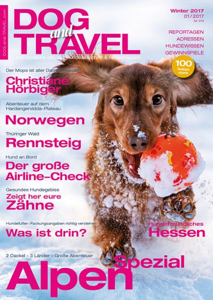 DOGandTRAVEL Winter 2016/17 (Einzelheft)