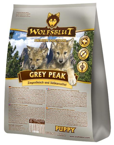 wolfsblut grey peak puppy trockenfutter f r welpen mit ziegenfleisch und s kartoffel 2 kg. Black Bedroom Furniture Sets. Home Design Ideas