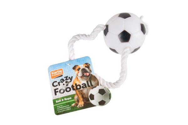 Crazy Football. Ball am Seil