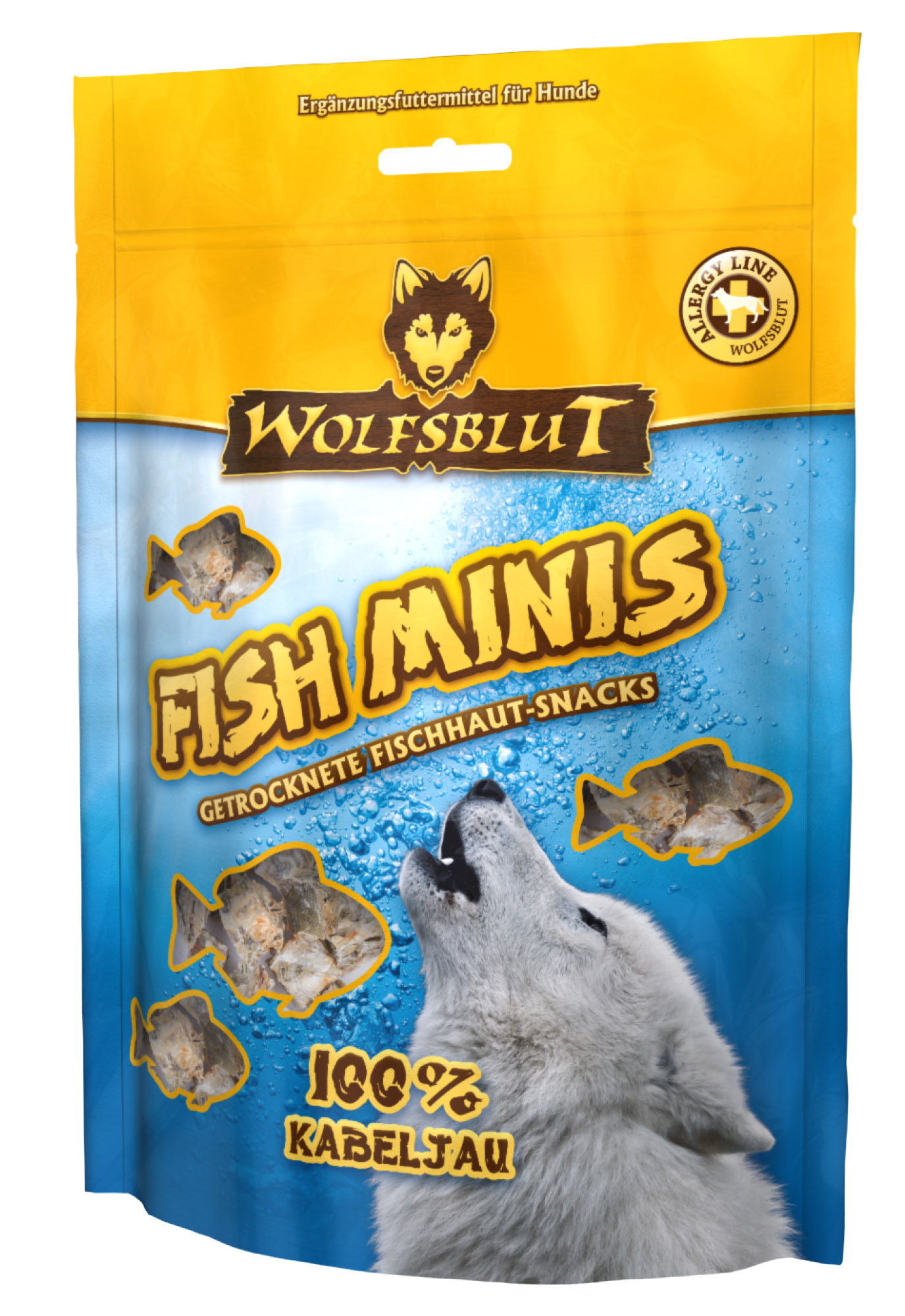 wolfsblut fish minis kabeljau 100 g dogandshop gutes f r hunde und ihre allerbesten freunde. Black Bedroom Furniture Sets. Home Design Ideas