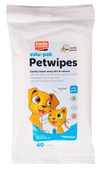 Petkin Pflegetücher für Haustiere