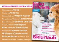DOGandTRAVEL Winter 2016 (Einzelheft)